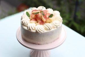 いちぢくショートケーキ